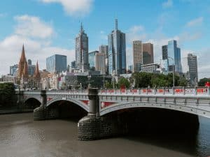 Resume writing services Melbourne- photo of Melbourne city scape on a sunny day